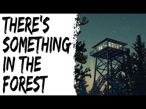 Scary Stories - There's Something in the Woods - Creepy Park Ranger Story