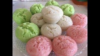 Qhia ua ncuav sawv noj /// steam rice cake