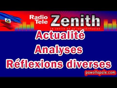Vendredi 26 Mai 2017 / TRAIN MATINAL - Aktyalite, analiz ak refleksyon