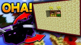 ENDER DRAGON İSPATLAMA BASE! - Minecraft TROLL SKYWARS!