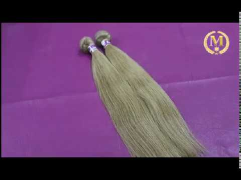 Blonde Straight Malaysian Remy Hair Weave #613