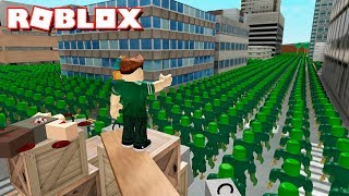 OUR INFINITE EXERCISE OF ZOMBIES IN ROBLOX