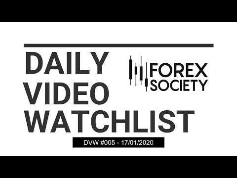 Forex Society - Daily Video Watchlist #5