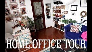 MY HOME OFFICE TOUR | JOY KENDI |