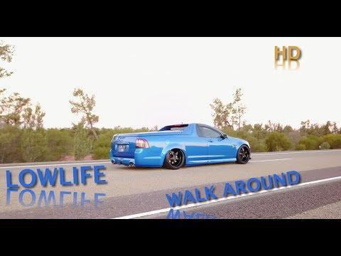 Lowlife VE Ute Holden Exterior Modifications Walk Around