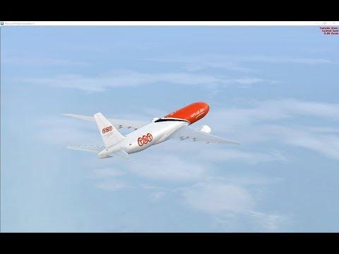 [FSX:SE] Beijing - Hong Kong  BOEING 777F   TNT CARGO