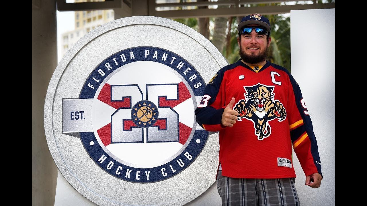 Florida Panthers unveil 25th anniversary logo