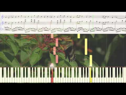 Adagio con Amore - Brian_Crain (Ноты и Видеоурок для фортепиано) (piano cover)