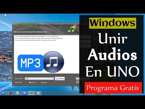 4 Pasos: Unir Varias Canciones en una sola [MP3]
