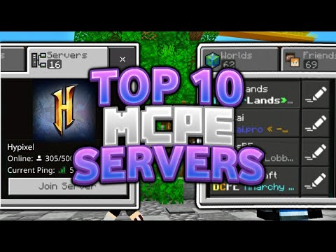 Top 10 Best Servers For Mcpe 1 16 Minecraft Pe Pocket Edition Xbox Windows 10 Ps4 Switch Vps And Vpn