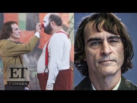 Joaquin Phoenix On 'The Joker' Set