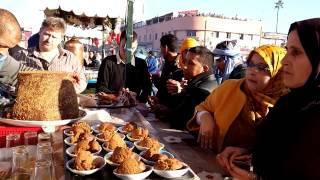 Уличная еда в Марокко