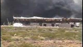 huge explosions