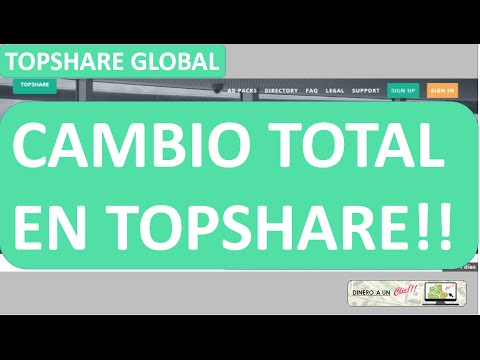 Topshare Global Ultima Actualización!!