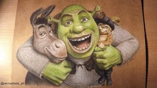 SHREK speed drawing