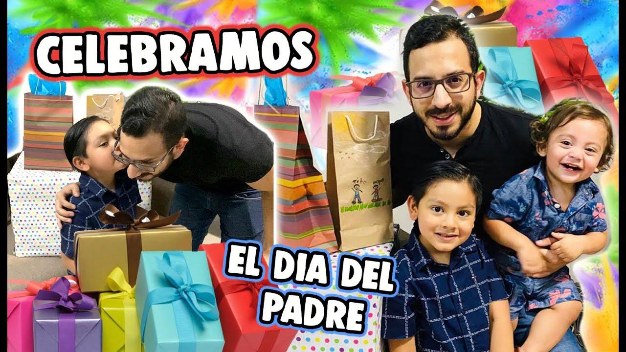Festejando a Papá | Abriendo sus Regalos | Family Juega