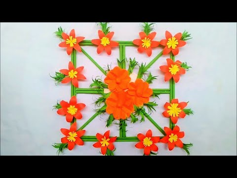 origami-paper,-beautiful-paper-flowers-easy-wall-hanging,-beautiful-and-easy-wall-decoration-ideas