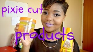 PIXIE CUT SHORT HAIR - PRODUCTS I USE ( washing, cowashing, setting lotion and conditioner)