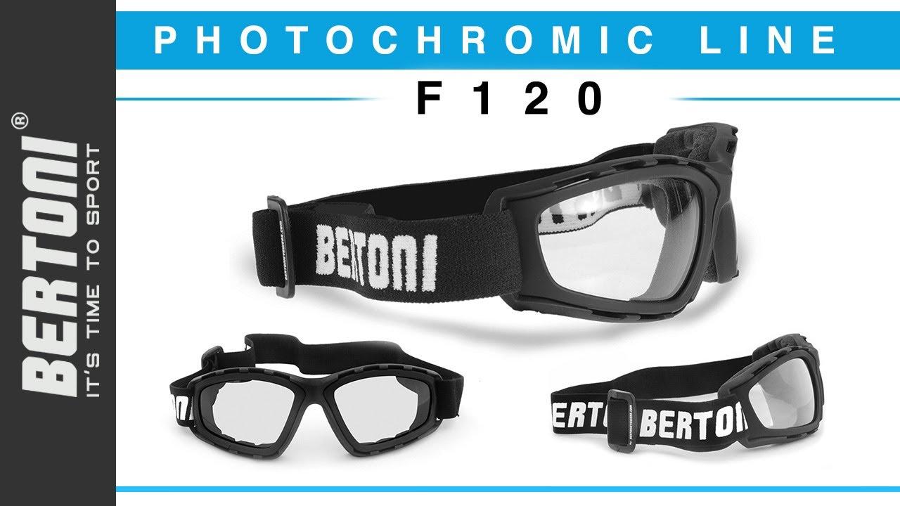 8cfb96ad120f F120A Photochromic Motorcycle Goggles Extreme Sports Sunglasses Powersports  Goggles Antifog Lens. Bertoni Sport Eyewear