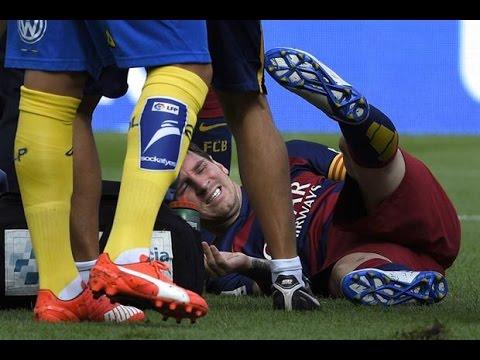Confirmado: Lionel Messi se rompió un ligamento de la rodilla izquierda