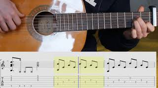 APOLOGIZE - One Republic. Guitar. Lesson. TABS. Notes. Fingerstyle.