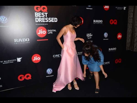 In Graphics: Bollywood actor Sayani Gupta during the GQ Best Dressed 2017 in Mumbai, India