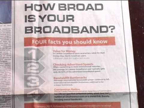 Fraudband or Broadband? (Version B)