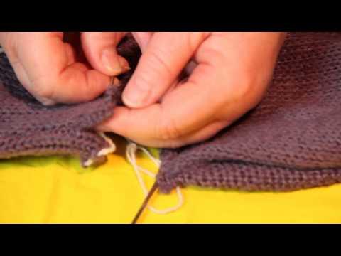 Как укоротить шерстяное платье
