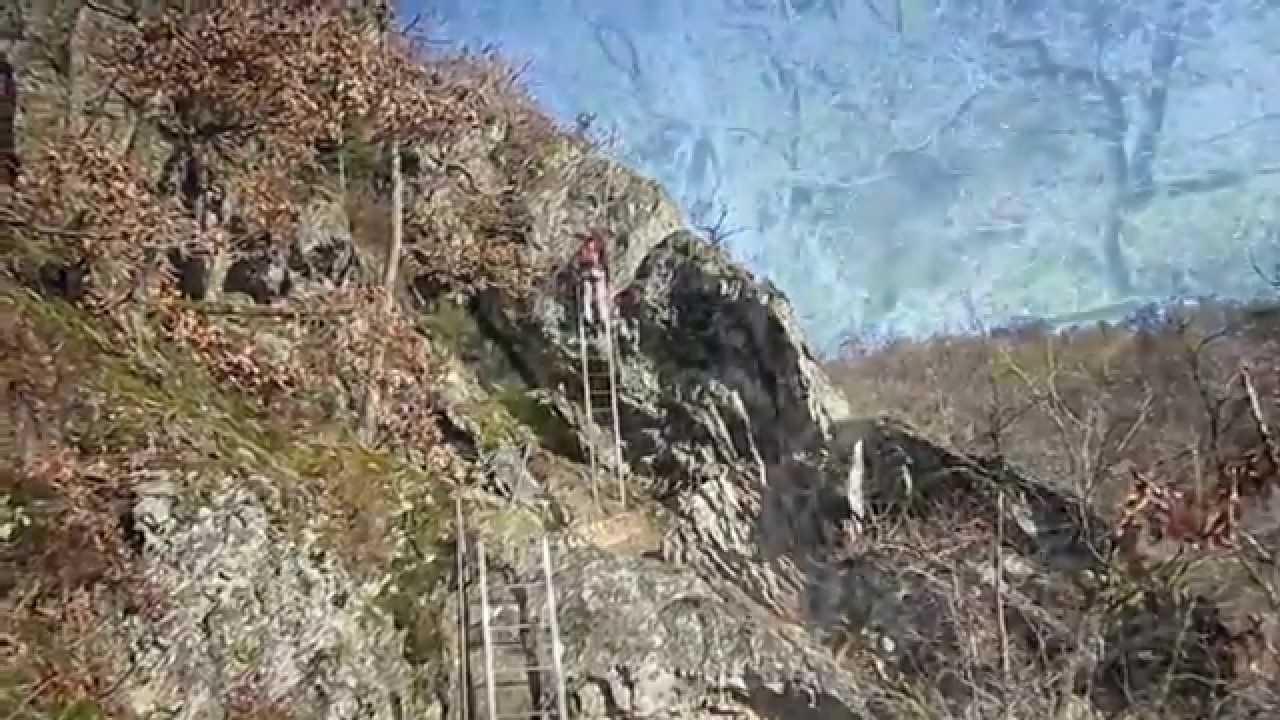Klettersteig Nochern : Klettersteig am hölderstein ein im westerwald