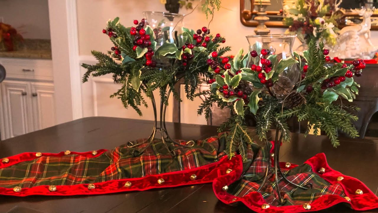 holiday interior design ideas dining room christmas decor youtube - Dining Room Christmas Decorations