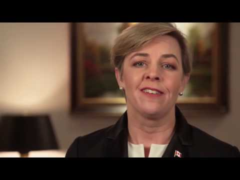 Drunk Kellie Leitch on Screening for Canadian Values