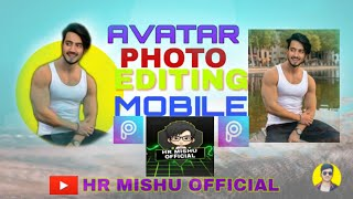 How to Avatar photo  editing PicsArt !Hr Mishu Official!