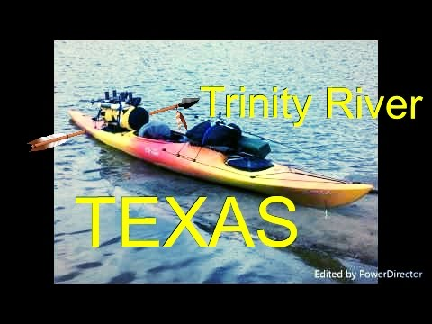 Kayak Camping on the Trinity River October 2016