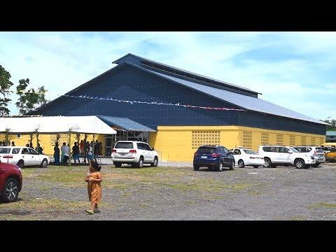 Savaii Hall Faaulufalega   SISDAC SAMOA MEDIA @ Copyright 2018