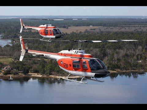 """US Navy TH-57C """"Sea Ranger"""", Pensacola Beach, 23Feb17"""