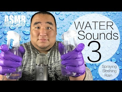 [ASMR] Ear to Ear - Water Sounds 3 | MattyTingles