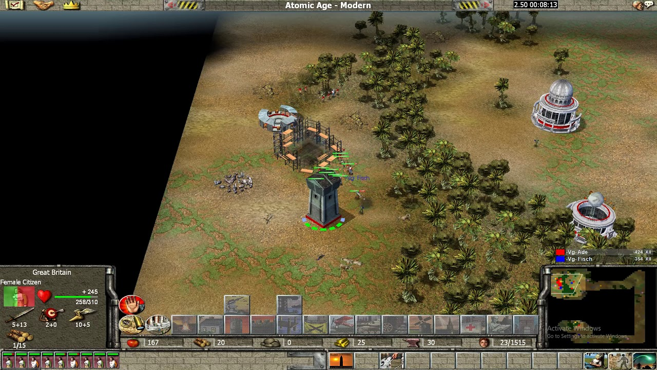Empire Earth Liga 1v1 Ade vs Ara G10