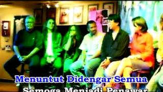 Aris, Joey, Mus, Nash - Semangat Zaman (Karaoke)