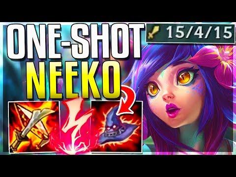 AP NEEKO IS ACTUALLY SO STUPID ONE-SHOT BUILD Neeko Mid Gameplay - League of Legends