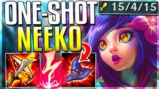 FULL AP NEEKO IS ACTUALLY SO STUPID! ONE-SHOT BUILD!! Neeko Mid Gameplay - League of Legends