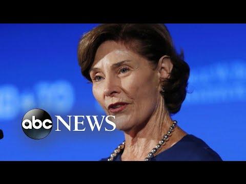 Laura Bush calls Trump immigration policy 'cruel'