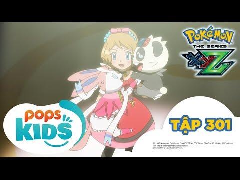 Pokémon Tập 301 - Eru và Serena! Cánh cửa mở ra tương lai! - Hoạt Hình Pokémon Tiếng Việt S19 XYZ