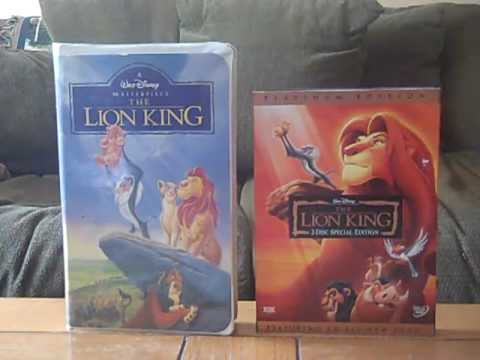 2 Different Versions of The Lion King