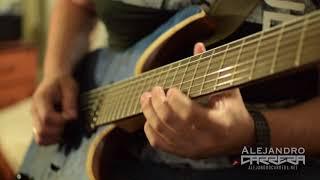 Fusion Funk Guitar Improvisation ( Soul / RnB ) - Alejandro Carrera
