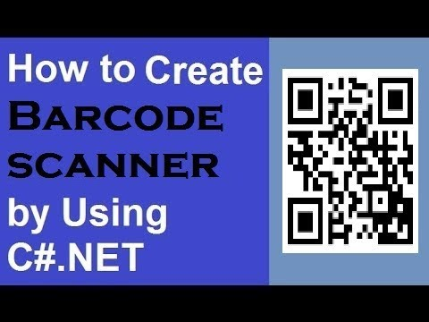 QR CODE scanning using AForge NET and ZXing step by step