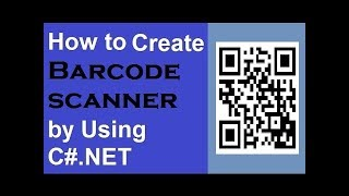 QR CODE scanning  using AForge.NET and ZXing step by step