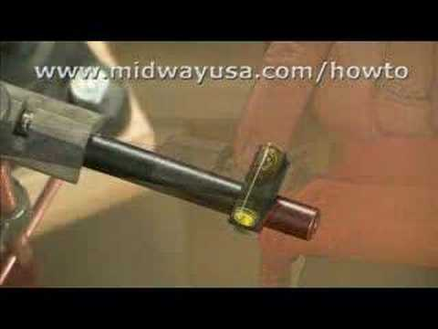 Gunsmithing - How to Install a Rifle Front Sight Presented by Larry  Potterfield of MidwayUSA