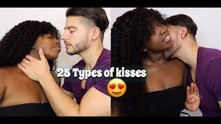 25 TYPES OF KISSES