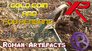 STUNNING GOLD COIN FOUND METAL DETECTING. Metal Detecting UK.