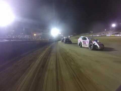 Mod Lite Onboard -- Tyler County Speedway -- Part 2